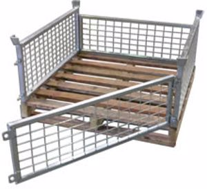 Picture of Half Size Pallet Cages (Flat Packed)