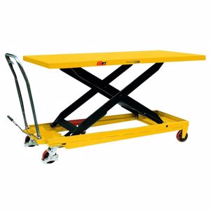 Picture of 500kg Huge Deck Size Scissor Lift Table with Foot Pump