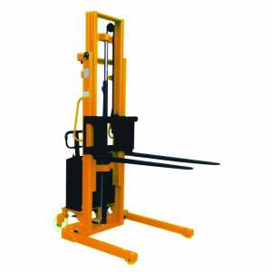 Picture of Semi Electric Powered Straddle Stacker
