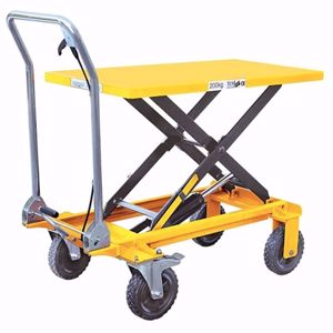 Picture of Manual Scissor Lift Table 200kg Capacity 1m Lift